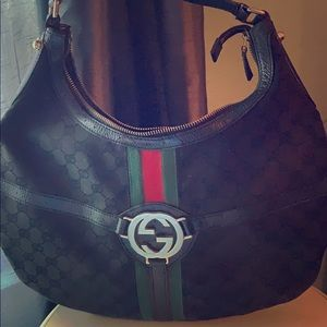 Authentic Gucci Rein Hobo Bag